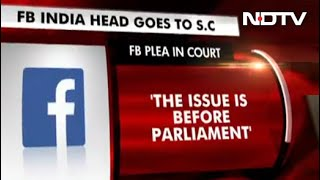Facebook India Head Goes To Top Court Against Delhi Assembly Panel Notice