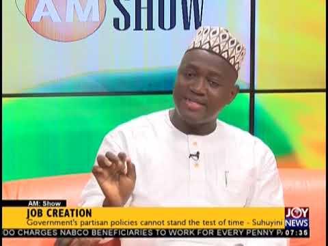 Job Creation - AM Talk on JoyNews (18-10-18)