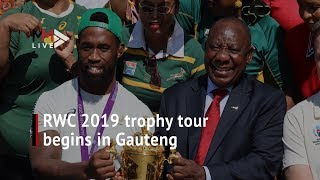'I saw victory in their eyes' - Ramaphosa as Boks kick off tour of champions