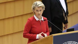 video: Ursula von der Leyen warns EU could hit UK with tariffs over Northern Ireland row