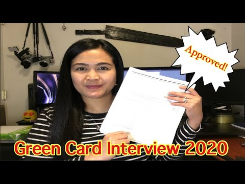 Green Card Interview Experience 2020 / Adjustment of Status