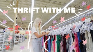 COME THRIFT WITH ME FOR SUMMER | Summer Style Try On Thrift Store Haul