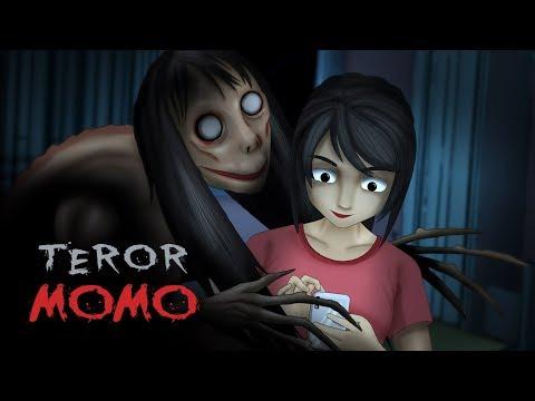 Teror Momo | Kartun Hantu & Cerita Misteri, Rizky Riplay (english subtitle available)