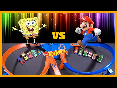 SPONGEBOB vs MARIO CRASH TOURNAMENT !!!