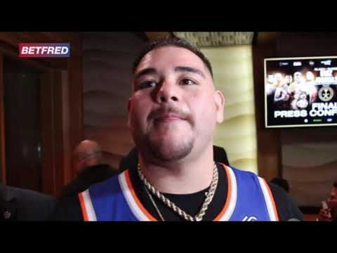 Andy Ruiz BEGS Anthony Joshua to bless him w/ a 3rd fight once AJ has filled him in!!