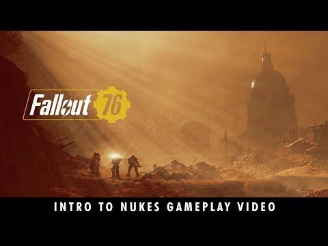 Le pouvoir de l'atome - Gameplay missiles nucléaires de Fallout 76