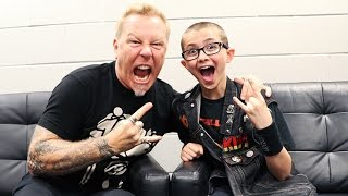 JAMES HETFIELD Of METALLICA Talks Being Nervous Farts Family Missing Cliff Burton