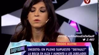 DEBATE CON FERNANDA VALLEJOS  DISCURSO DE CRISTINA Y NESTOR  010814
