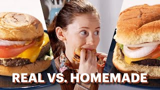 """Homemade Vs. Real """"Impossible Burger"""""""