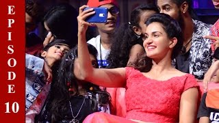 D4 Junior Vs Senior I Ep 10 - 'Sweet sweetest 'Honey Rose' on the floor...! I Mazhavil Manorama