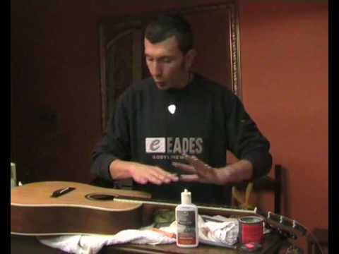primo veloce setup chitarra acustica, regolazioni, action, tasti, ponte EKO MIA