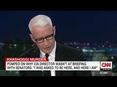 Reed, Anderson Cooper Discuss Yemen Resolution