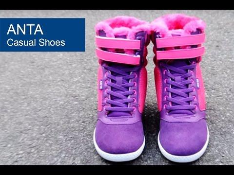 Снікерси Anta Casual Shoes, відео - інтернет магазин MEGASPORT