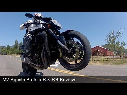 MotoUSA Review: 2012 MV Agusta Brutale R & RR