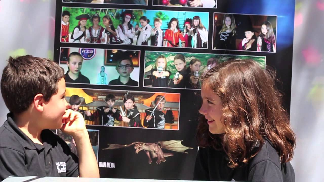 Entrevistas con los Kids in Black - Pablo entrevista a Lorena