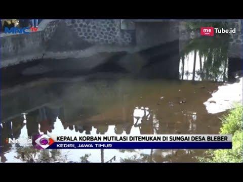Tim Gabungan Polda Jatim Temukan Kepala Korban Mutilasi di Sungai Desa Bleber - LIM 12/04