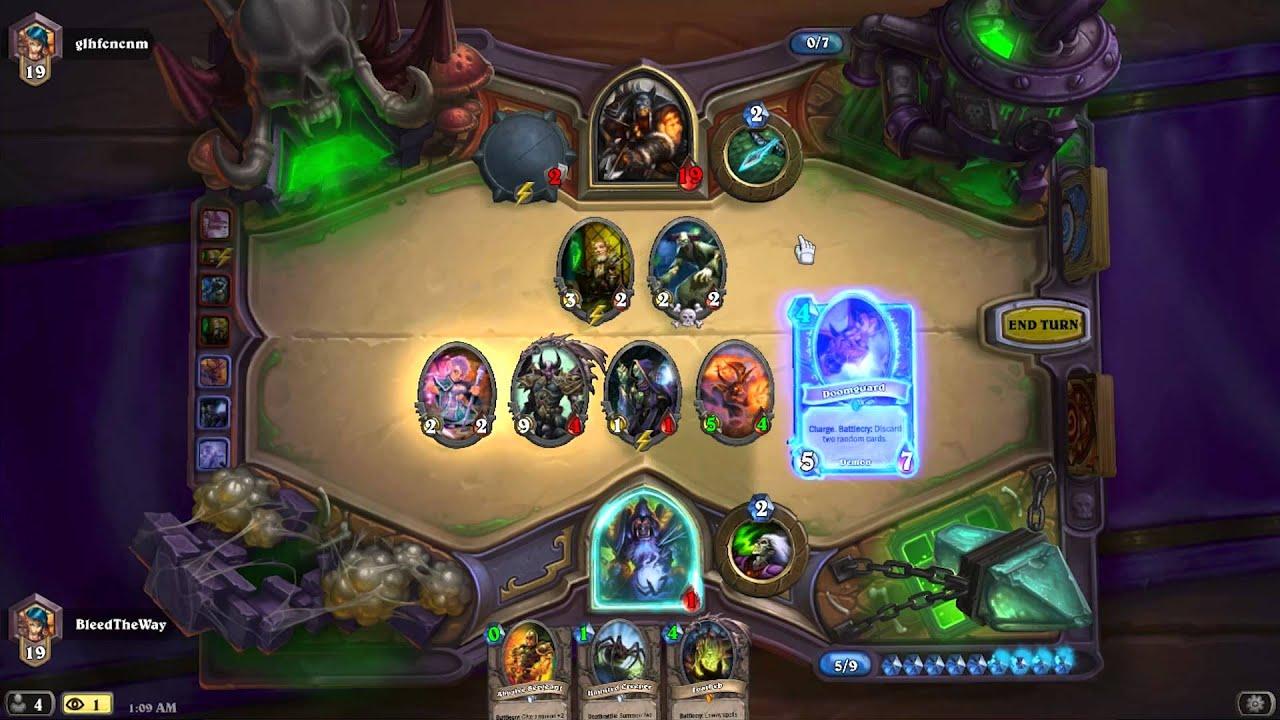 Hearthstone: Một pha lộn cái bàn quá hay của Warlock