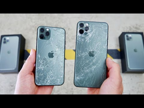 iPhone 11 Pro DROP Test! Worlds Toughest Glass!