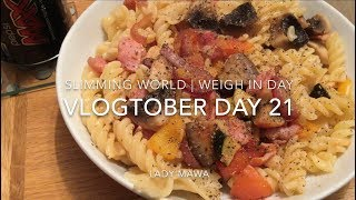 Vlogtober Day 21 | Shopping | Slimming World Weigh In | Giveaway Update
