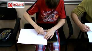 Art class in Bonnie School