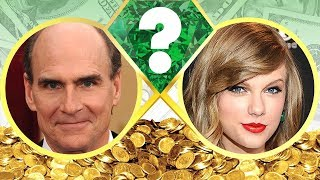 WHO'S RICHER? - James Taylor or Taylor Swift? - Net Worth Revealed! (2017)