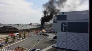 preview picture of video 'Explosion gaz Pantin (CITRAIL)'