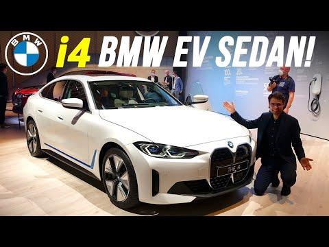 BMW i4 REVIEW Exterior Interior - EV sedan against the Tesla Model 3!