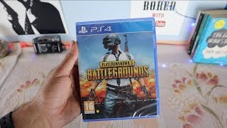 PUBG PS4 PRO- UNBOXING & GAMEPLAY IN HINDI.