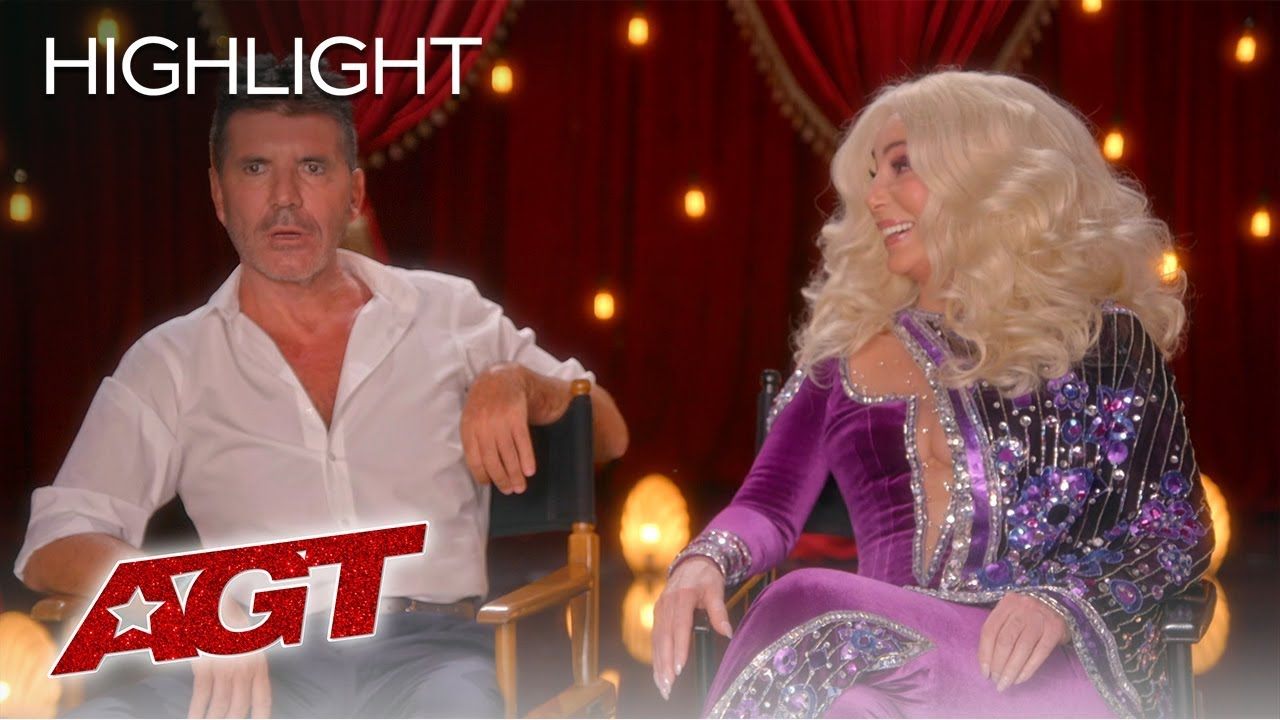 LOL! Cher and Simon Cowell Share Their OPINIONS On RANDOM Things! - America's Got Talent 2019 thumbnail
