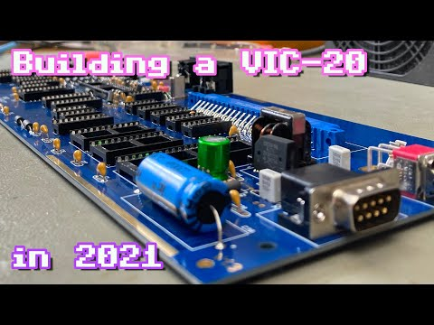 Building a VIC-20 in 2021