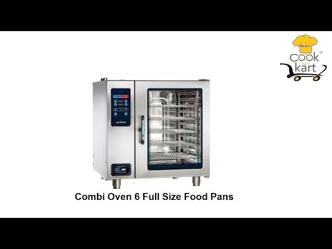 Combi Oven 6 Full Size Food Pans