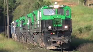 HD - Trens em Ponta Grossa/PR - Abril/18