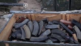 Видео с территории российской военной базы в Пальмире Сирия 18.12