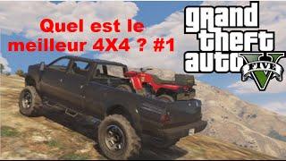 GTA V - Quel Est Le Meilleur 4X4 ? #1
