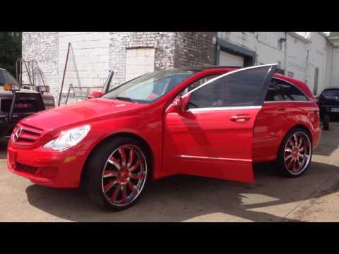 Benz R500 on Forgiato 26s New Door Speakers (Special Vehicl