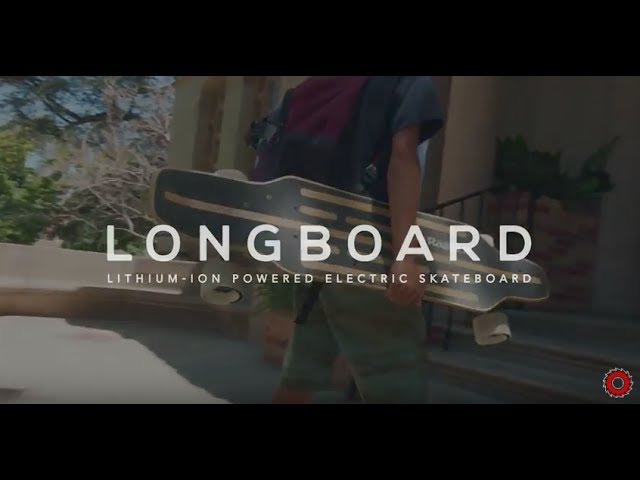 RazorX Longboard Electric Skateboard Ride Video