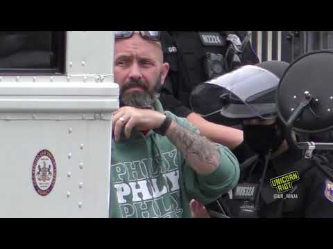 Philly Police Escort Proud Boys' Surprise Rally