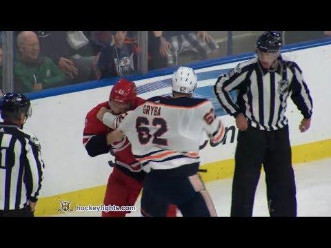 Trevor Carrick vs. Eric Gryba