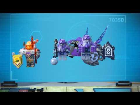 Vidéo LEGO Nexo Knights 70350 : Les trois frères
