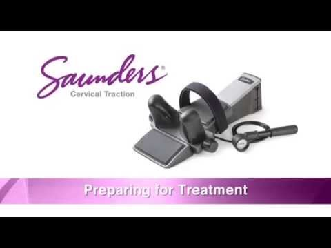 Saunders Cervical Traction Device - Instructions