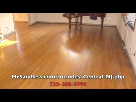 wood floor refinishing central NJ