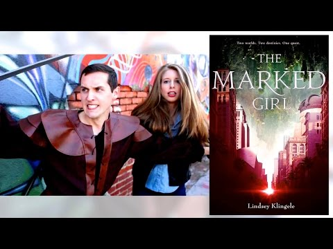 THE MARKED GIRL BY LINDSEY KLINGELE   OFFICIAL BOOK TRAILER