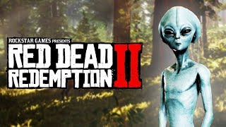 Aliens in Red Dead Redemption 2 (Alien Drawings)