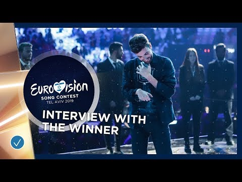 Interview with the winner of the 2019 Eurovision Song Contest