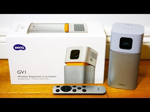 Review: BenQ GV1 portabler Mini-Beamer (Deutsch) | Mini-LED-Projektor