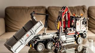 LEGO TECHNIC Mercedes Arocs. Full RC