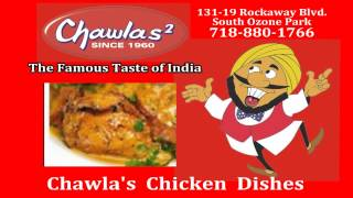 preview picture of video 'Chicken Menu at Chawlas Indian Restaurant in South Ozone Park NY'