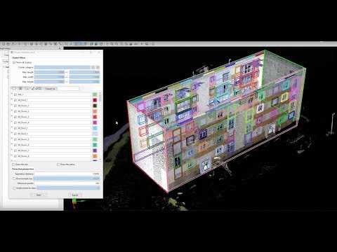 VisionLidar is the most complete Point Could software so far. It's now able to generate BIM from point clouds. From indoor and outdoor scans, all the relevant elements on a building can be automatically detected and classified with the AI object detection function. A complete IFC editor is integrated and allows to edit organize your data.  Once the IFC elements are well organized, view your BIM in the viewer and proceed to the exportation. Export your data on Revit, ArchiCAD, VectorWorks, Navisworks, BIMx, Constructor, Allplan and all softwares that supports IFC files.