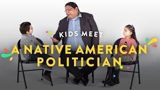 Kids Meet a Native American Politician   Kids Meet   HiHo Kids