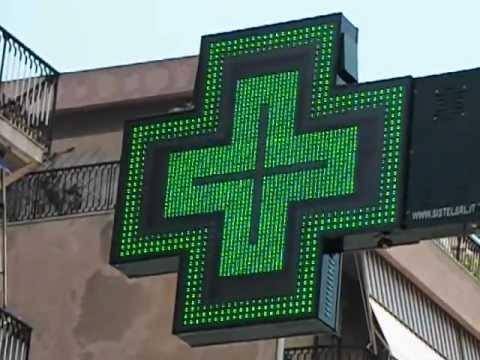 Guarda il video Croce LED Farmacia Graphic Full 120